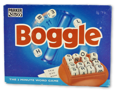 Boggle - Learning steps