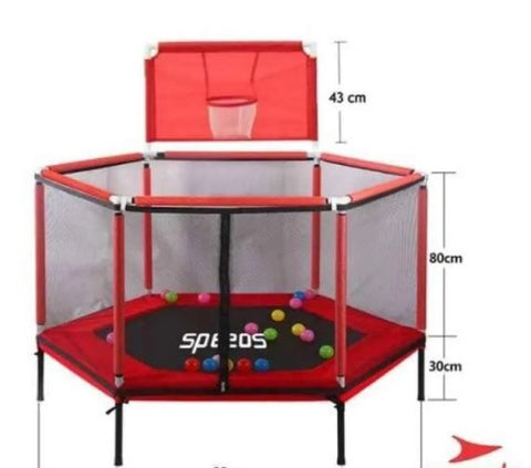 Trampoline Lompat anak SPEEDS 55 inch 140CM LX067-5 GYM
