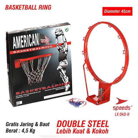 Ring Bola Basket Speeds Original Standard International LX043-11 - Nyari.id