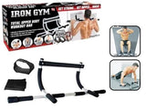 Iron Gym Alat Fitness Pull Up Multi Grip Dip Bar Original - Nyari.id