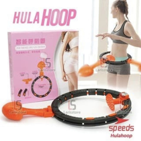 Hula Hoop Ring Smart Holla Speeds Latih Perut