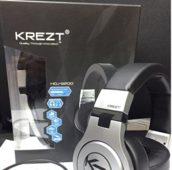 Krezt DJ Headphone HDJ-9200