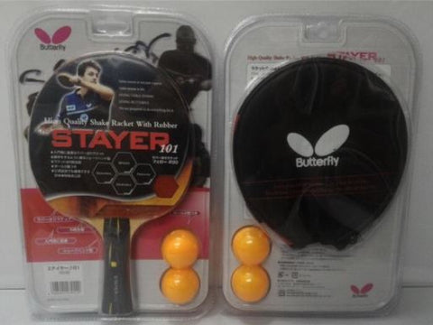 Bat bet tenis meja pingpong Butterfly Stayer 101