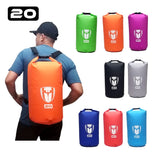 Tas Waterpoof Anti Hujan Drybag Tube 20L - Nyari.id