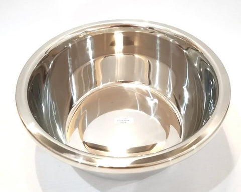 Baskom Mangkuk Stainless Tebal ROSH Super Basin Pilih Diameter 20 - 40
