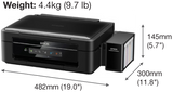 Epson L360 All-in-One Ink Tank Printer - Nyari.id