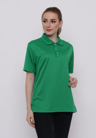 Hitscore Kaos Polo Shirt Short Sleeve Green - Nyari.id