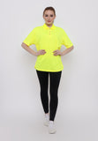 Hitscore Kaos Polo Shirt Short Sleeve Yellow - Nyari.id