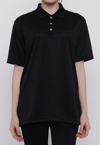 Hitscore Kaos Polo Shirt Short Sleeve Black