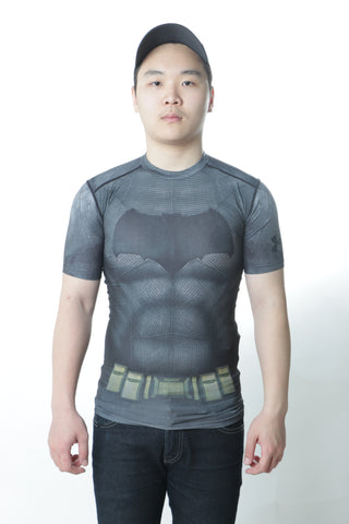 Kaos Bodyfit Under Armour Batman Compression Shirt - Nyari.id