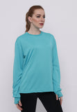 Hitscore Exclusive Kaos Oblong T-Shirt Long Sleeve Light Blue - Nyari.id