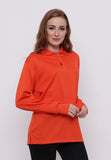 Hitscore Kaos Polo Shirt Long Sleeve Orange - Nyari.id
