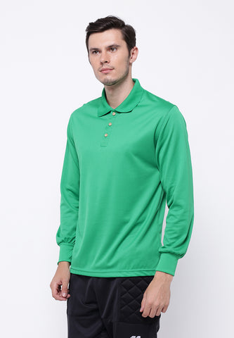Hitscore Kaos Polo Shirt Long Sleeve Green