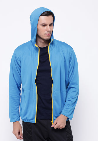 Hitscore Plain Jacket Blue