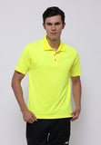 Hitscore Kaos Polo Shirt Short Sleeve Yellow