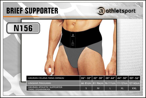 Brief Supporter Athlet Sport No.156