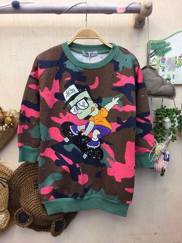 Kids Sweater Simpsons - Nyari.id