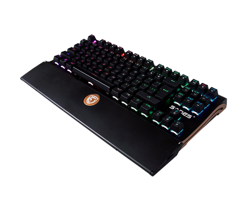 Sades Shield TKL RGB Mechanical Gaming Keyboard - Nyari.id