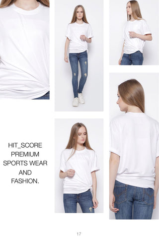 Hitscore T-Shirt Short Sleeve White