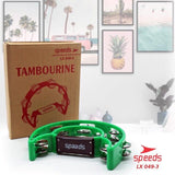 Tamborin Speeds Double Ring Bulan Sabit Cowboy Murah Bagus LX 049-3