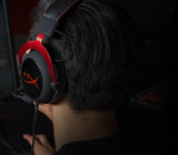 HyperX Cloud II Black Red Headset Gaming - Nyari.id