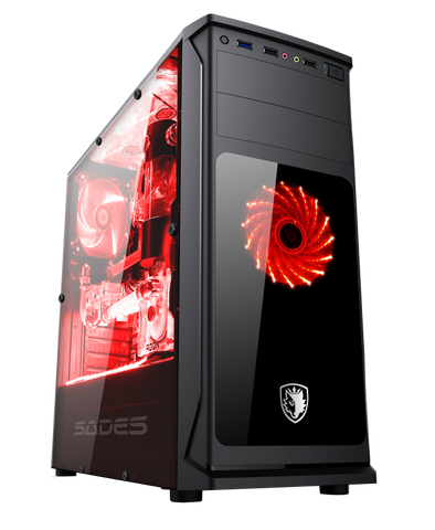 Sades Sphinx Gaming Case Pc - Nyari.id