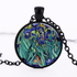 Irises Pendant Necklace-Necklaces-Wantalo