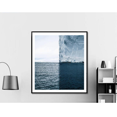 Antarctica Iceberg, Photo Painting