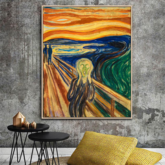The Scream, Painting