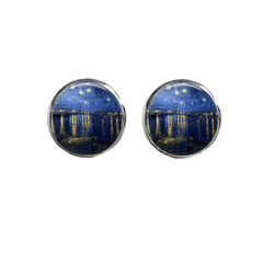 Starry Night Over the Rhône, Earrings