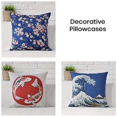 Japanese Style Pillowcases