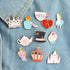 Alice in Wonderland Enamel Pins Set-Pins & Patches-Wantalo