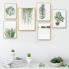 Watercolor Plants Decorative Paintings