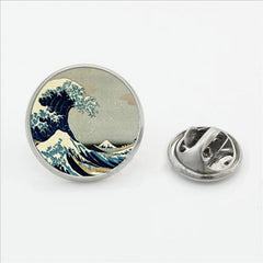 The Great Wave off Kanagawa Pin