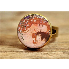 Three Ages of Woman by Klimt, Ring