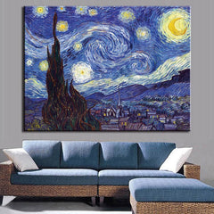 Starry Night, Painting