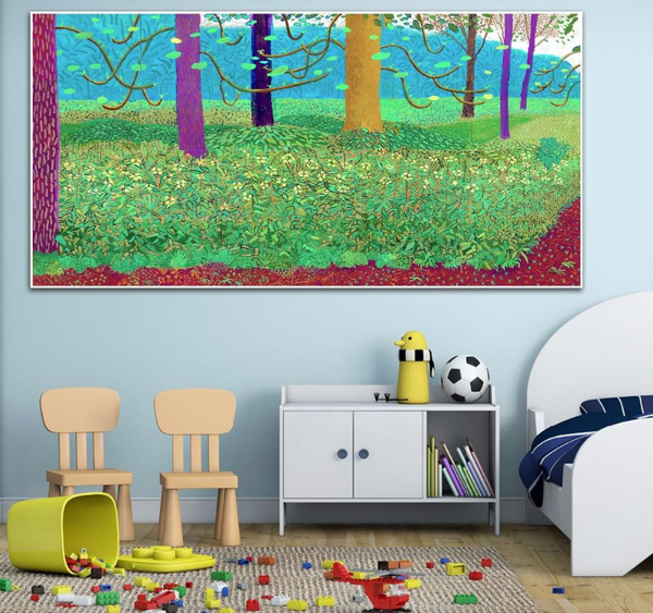 Under The Trees Painting-Paintings-Wantalo