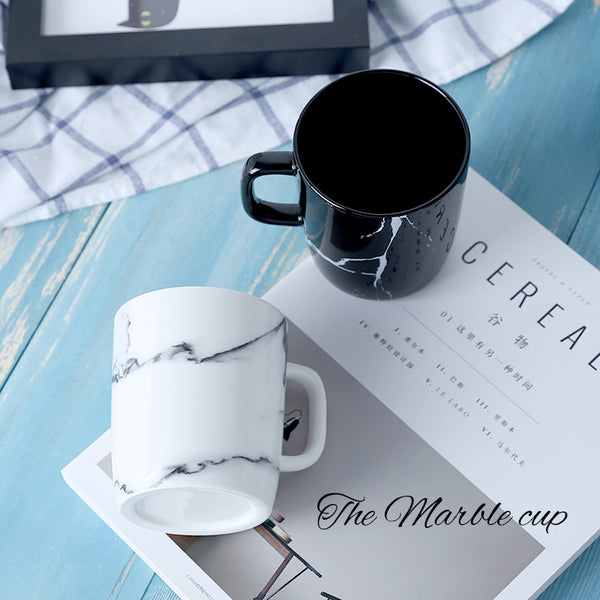 Marble Design Ceramic Mug-Tea & Coffee-Wantalo