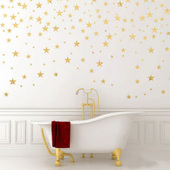 Stars Wall Decals 124 pcs