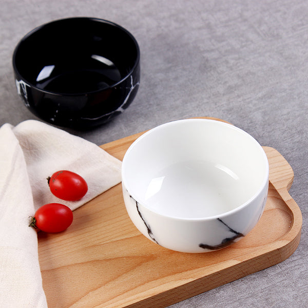 Marble Design Bowls-Tableware-Wantalo