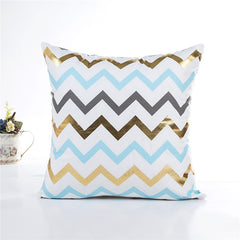 Geometrical Waves Decorative Pillowcase