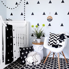 Triangles Wall Decals 60 pcs