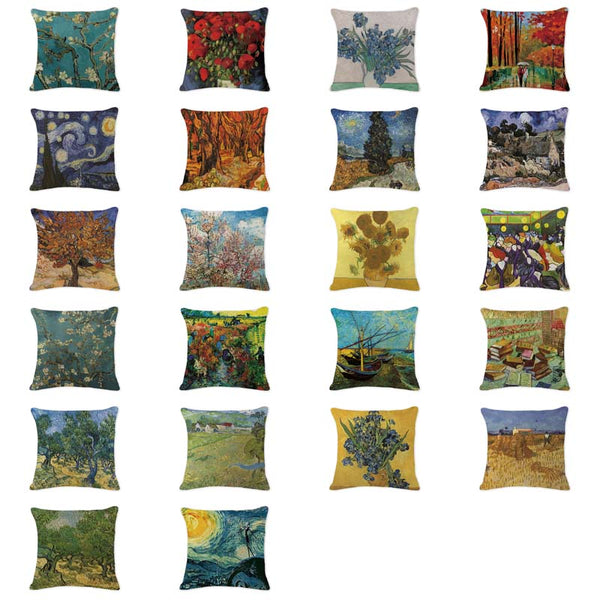 Starry Night, Decorative Pillowcase-Pillows-Wantalo