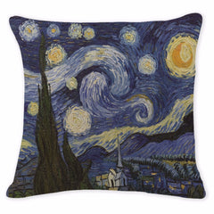 Starry Night, Decorative Pillowcase