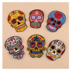Sugar Skulls Iron-on Patches