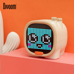 Pixel Art LED Bluetooth Speaker, Alarm clock
