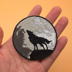 Wolf and Moon Patches