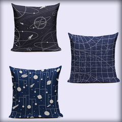 Space Coordinates Pillowcases