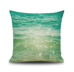 Green Sea Pillowcase