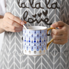 Luxury Mugs with Spoons
